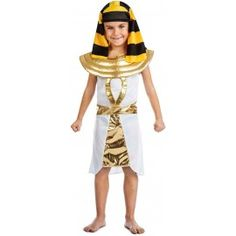 Disfraz de Egipcio Faraon para niño