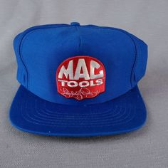 low cost c07d3 a5119 Blue Mac Tools Snapback Hat Richard Petty Racing Patch Made USA Embroidered  Cap