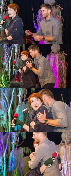jensen ackles and felicia day