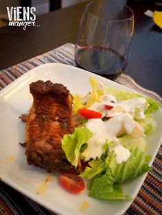 Blog Viens manger... | Côtes levées épicées Venus, Loin, Steak, Grilling, Eat, Steaks, Venus Symbol