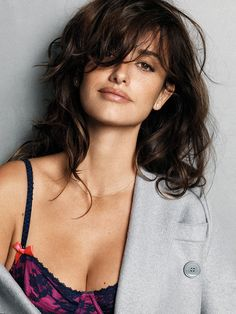 """Esquire has named Academy Award winning actress and model Penelope Cruz as it's """"Sexiest Woman Alive The talented and stunning Cruz is featured on the November 2014 cover and throughout the spread wearing RUBY STELLA fine jewelry. Vicky Cristina Barcelona, Beautiful Celebrities, Most Beautiful Women, Beautiful Actresses, Penelope Cruze, Spanish Actress, Salma Hayek, Charlize Theron, Halle Berry"""