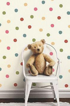 Cole  Sons - Lilleby Polka Dot Wallpaper