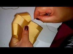 Curso basico pra artesãs parte17. Laço Boutique super facil usando ferro de solda - YouTube