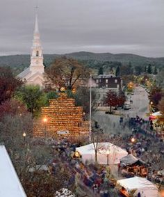 Keene, NH - Pumpkin Festival - We are in the Guinness Book, too! I love our little town :)  Ahhh, New England in the Fall..!