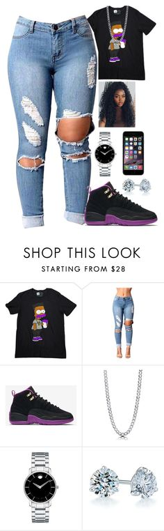 """Untitled #2139"" by basnightshine1015 ❤ liked on Polyvore featuring Paper Root, NIKE, BERRICLE, Movado and Kwiat"