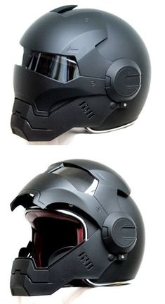 Any motorcycles and Ironman fans out here? Des motos et des fans d'Ironman ici? Helmet Design, Cool Motorcycles, Vintage Motorcycles, Victory Motorcycles, Riding Gear, Motorcycle Gear, Bike Helmets, Women Motorcycle, 250cc Motorcycle