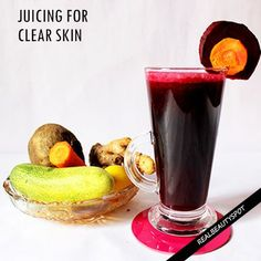 Juicing to get healthy skin is the new trend that has caught up the youngsters and finally something that can be encouraged too. These juices clear the skin ...