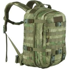 Wisport Sparrow 30 II Rucksack A-TACS FG Molle Accessories, Paracord Zipper Pull, Molle Attachments, Tactical Store, Survival Backpack, First Aid Kit, Backpack Bags, 30th
