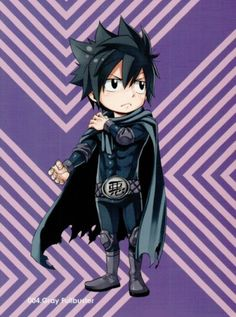 Fairy tail volume 50 postcard No 4 Gray Fullbuster