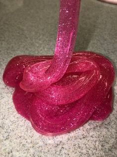 How To: PINK GLITTER SLIME: 5 Steps (with Pictures)