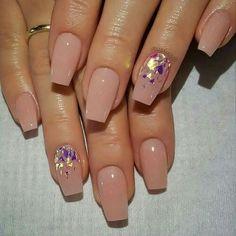 Simple Nail Art Designs, Toe Nail Designs, Easy Nail Art, Acrylic Nail Designs, Cuffin Nails, Pink Nails, Nail Polishes, Glitter Nails, Lady Nails