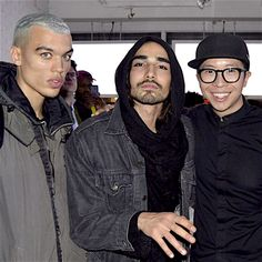 Dudley O'Shaugnessy, Willy Cartier & Justin Wu in NY