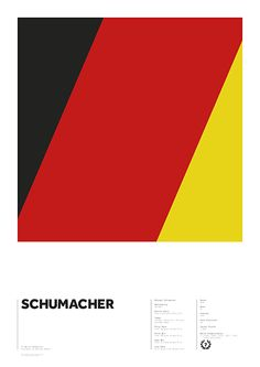 World Champions series - Schumacher by Adrian Newell
