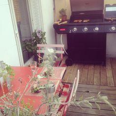Coin barbecue #barbecue #home #terrasse