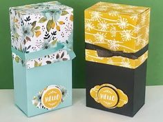 Whole Lot of Lovely - Large Gift Box Video Tutorial with Stampin' Up Products - YouTube