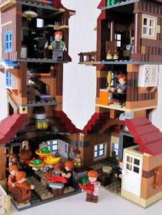 Weasley Burrow. People, start buying me Legos. I am building Hogwarts and the Dursleys and Hogsmeade and the Burrow. Go.