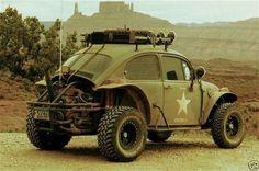 Tactical bug #vw #bug #beetle #military #tactical #retro #car