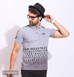 New Fashion, Trendy Fashion, Latest T Shirt, Polo T Shirts, Summer Tshirts, Types Of Fashion Styles, Half Sleeves, Printed Cotton, Cool Style
