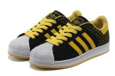 bb4aed232c25 Originals Adidas Jeremy Scott Superstar Black Yellow Shoes Kd Shoes
