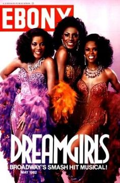 I am an ORIGINAL Dreamgirls fan!!!!  A cover of Ebony here with Loretta devine and Sheryl Lee Ralph and wait. . . ok we are going to need another pin!!!