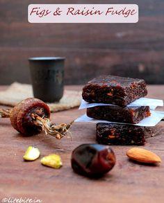 Healthy Raisin & Figs fudge or Indian Burfi! @Sanjeeta Banerjee kk Lite Bite #Vegan  #recipes #desserts #healthy #food