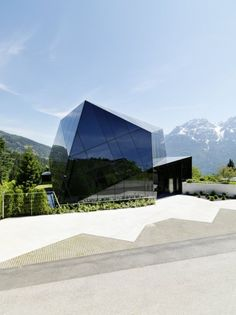 The residential conference crystal by MHM architects