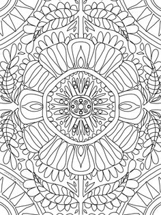 21 days of sheer colour therapy delight and it's all free! Free Coloring, Adult Coloring, Fun Art, Cool Art, Sunflower Mandala, Colour Therapy, Baboon, Art Challenge, Weird And Wonderful