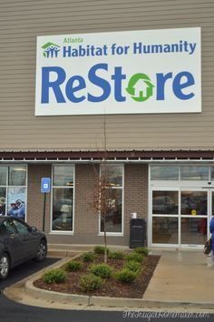 Shopping at a Habitat for Humanity Restore: must remember this!