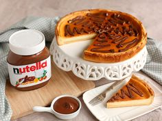 Cheesecake con Nutella®