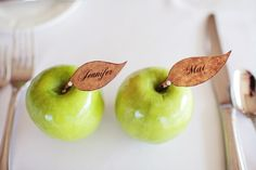 Apple Placecards
