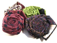 Add a sophisticated look to everyday pillows with this necktie flower pin!