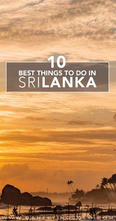 Get to Sri Lanka like yesterday...: