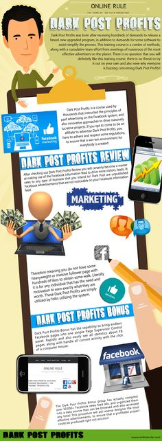 Browse this site http://www.onlinerule.com/dark-post-profits-vs-fb-ads-cracked-reloaded-the-newbie-perspective/ for more information on Dark Post Profits Review. And this is exactly what Dark Post Profits Review will help you here: how to set up a successful campaign that will produce highly targeted leads resulting in high conversion rates!. Just remember that having a budget is important, but having the necessary knowledge is even more crucial!