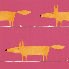Mr Fox Fuchsia - Seinäruusu - Verkkokauppa