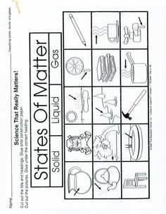 Page 1 - States of Matter worksheet (make a 3 part foldable- solid, liquid, gas).pdf