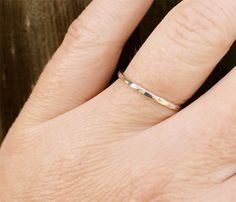 Meghan Hammered Ring