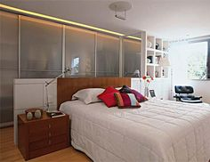 Iluminação para quarto de casal: 22 ideias charmosas - Casa