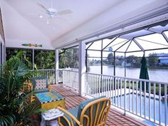 Relaxing on your lanai!