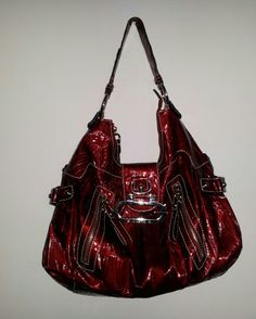 Red guess purse Guess Purses, Guess Bags, Purses And Handbags, Hair Accessories, Wallet, My Style, Red, How To Wear, Fantasy