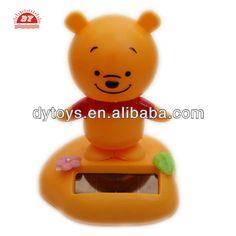 ICTI toy manufacturer custom making cartoon bear solar dancing toys