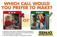 Choose ENJO! Saves time, money, better for your Healy, environment and results proven to be better than chemicals.