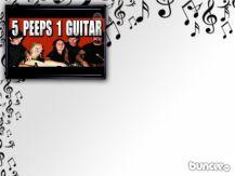 5 peeps 1 guitar, great video on utube