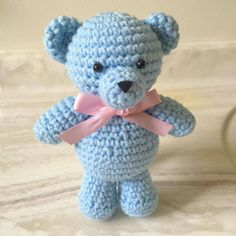 Basic teddy bear ^^ #amigurumi #crochet #yarn #teddybear #bear #baby #babytoys #cute #kawaii #handmade #crafts #diy