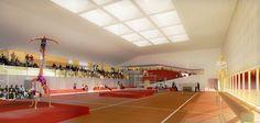 Agence Search Architecture » GYMNASE, MASSY 91 – FRANCE