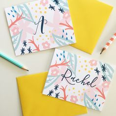 Summer may be ending soon, but it doesn't have to with this cute  Beachy Personalized Note Card!  This design is available on our folded note cards and personalized platters!  . . #peonyhillpress #php #stationery #notecards #correspondence #hello #thankyou #notepaper #gift #present #giftidea #personalized #custom #prettypaper #shopsmall #shop #glenellyn #smallbusiness #creative #beach #summer #hostess #hostessgift #summertime #lakehouse #beachhouse #girlboss #girlpower