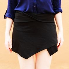 Make the famous origami skirt WITHOUT SEWING ANYTHING! in less than 15 minutes! (in English and Spanish)