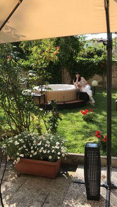 Relax in giardino presso Hotel Minerva Pisa