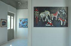 "04/2014, ""Art is DLife"" #groupexhibition, e-gallery DL Fine Arts, Art Showroom Porta, Restaurant Kuzina, curator: Dimitra Limniati, photography by Kelly Vardaka #mariannakatsoulidi #francescomoretti (http://www.dlfineartsgallery.com/exhibit/exhibitions/8ALCBSBa_XWvIw)"
