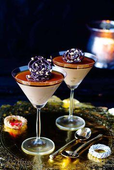 Mousse de Turrón y Chocolate