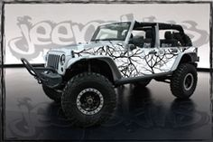 Jeep Wraps | Jeep Graphic Kits